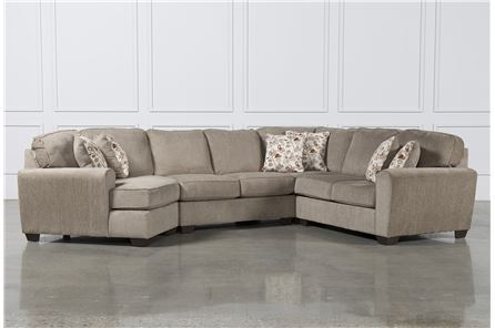 Display product reviews for KIT-PATOLA PARK 4 PIECE SECTIONAL W/LAF CUDDLER