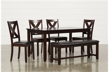 Display product reviews for KIT-DAKOTA 6 PIECE DINING SET