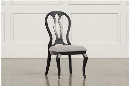 Display product reviews for LAUREL BLACK SIDE CHAIR