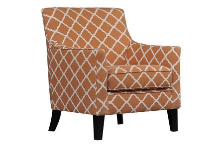 Display product reviews for KENDALL ORANGE ACCENT CHAIR