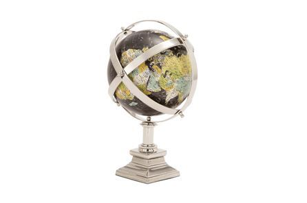 Display product reviews for METAL TRADITIONAL GLOBE
