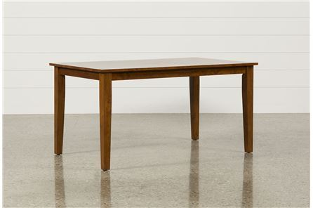 Display product reviews for WENDY CARMEL RECTANGLE DINING TABLE