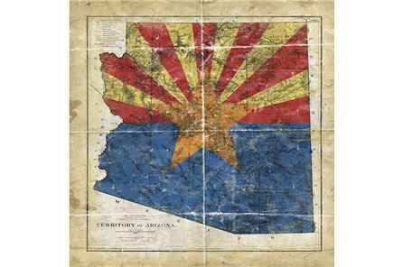 Display product reviews for PICTURE-AZ STATE FLAG