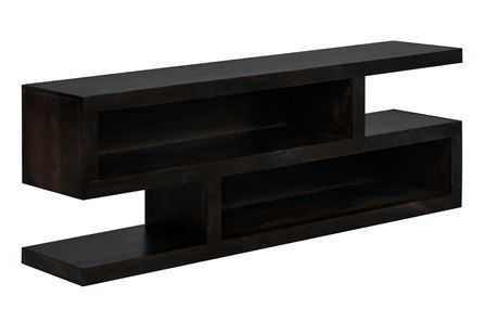 Display product reviews for WALTON 74 INCH OPEN TV CONSOLE