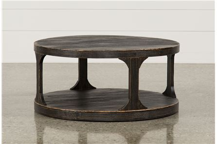 Display product reviews for COLLETTE ROUND COCKTAIL TABLE