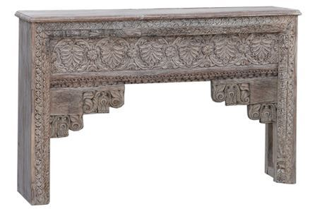 Display product reviews for OTB TRAYLENE CARVED CONSOLE TABLE