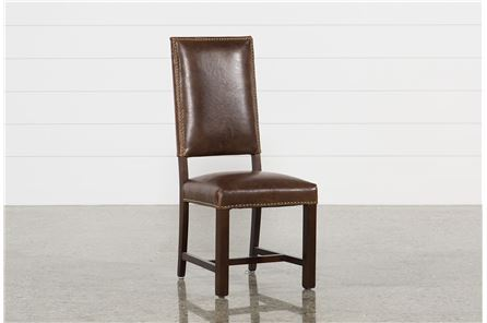 Display product reviews for HADLEY WHISKEY SIDE CHAIR