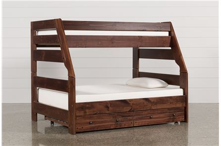 Display product reviews for KIT-SEDONA TWIN/FULL BUNK BED W/TRUNDLE & MATTRESS