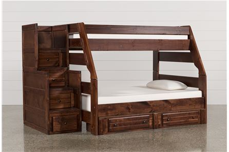 Display product reviews for KIT-SEDONA TWIN/FULL BUNK W/2-DRW STORAGE UNIT & STAIR CHEST