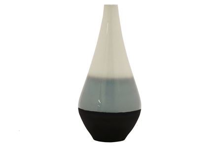 Display product reviews for OUTDOOR-BLUE OMBRE VASE TALL