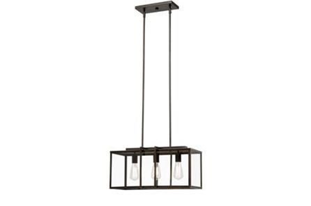 Display product reviews for PENDANT-CABOT BRONZE RECTANGLE
