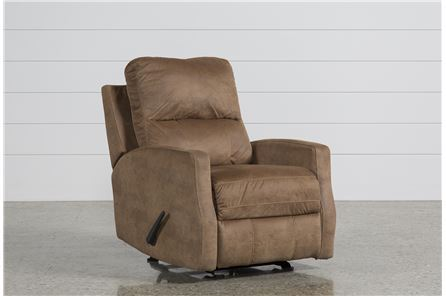 Display product reviews for KARRABIN ALMOND GLIDER RECLINER