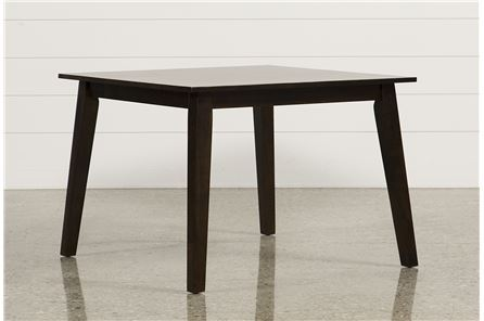 Display product reviews for SANDY ESPRESSO SQUARE DINING TABLE