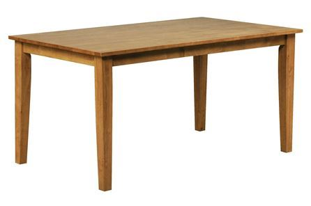 Display product reviews for WENDY HONEY RECTANGLE DINING TABLE