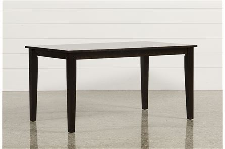 Display product reviews for WENDY ESPRESSO RECTANGLE DINING TABLE