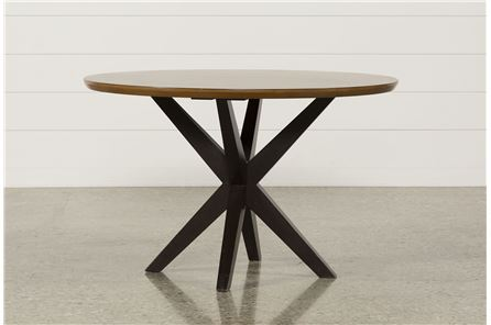 Display product reviews for SPENCER ROUND DINING TABLE