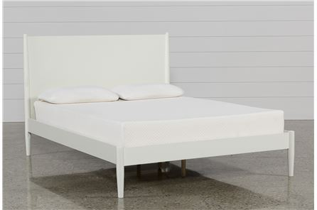Display product reviews for KIT-ALTON WHITE CALIFORNIA KING PLATFORM BED