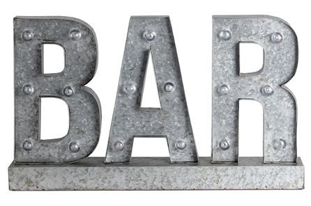 Display product reviews for METAL WORD DISPLAY-BAR