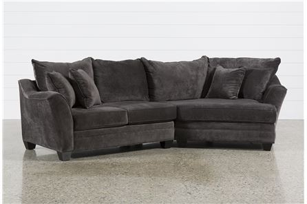 Display product reviews for KIT-BELLEVIEW GRAPHITE 2 PIECE SECTIONAL W/RAF CUDDLER