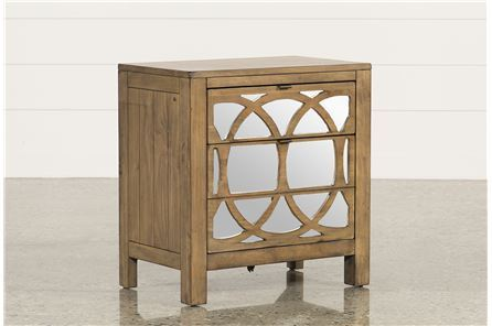 Display product reviews for BROOKE MIRRORED NIGHTSTAND