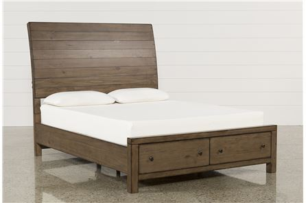 Display product reviews for KIT-BROOKE CALIFORNIA KING STORAGE BED
