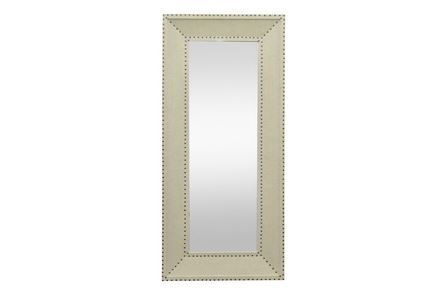 Display product reviews for LEANER MIRROR-TEAGUE LINEN 31X71
