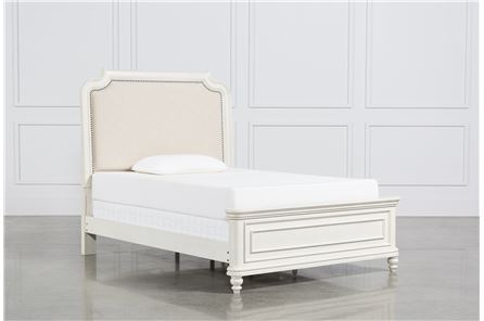 Display product reviews for KIT-EMILY FULL UPHOLSTERED PANEL BED
