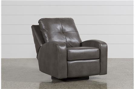 Display product reviews for MANNIX GREY SWIVEL GLIDER RECLINER