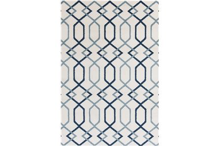 Display product reviews for 88X124 RUG-CONRAD BLUE