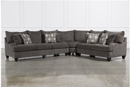 Display product reviews for KIT-DRESDEN 3 PIECE SECTIONAL