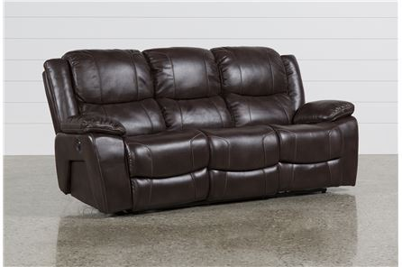 Display product reviews for SAMPSON POWER RECLINING SOFA
