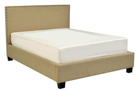 Display product reviews for KIT-LENNOX II QUEEN UPHOLSTERED PLATFORM BED