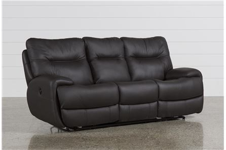 Display product reviews for OLIVER GRAPHITE POWER RECLINING SOFA