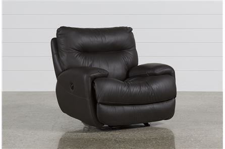Display product reviews for OLIVER GRAPHITE POWER GLIDER RECLINER