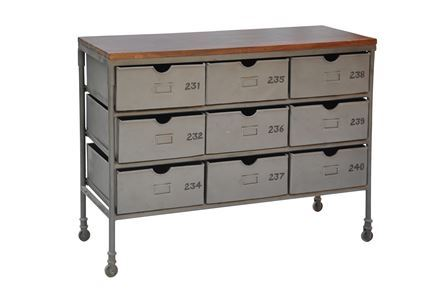 Display product reviews for OTB FAROUK 48 INCH 9-DRAWER CHEST