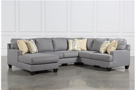 KIT-CHAMBERLY 4 PIECE SECTIONAL W/LAF CHAISE