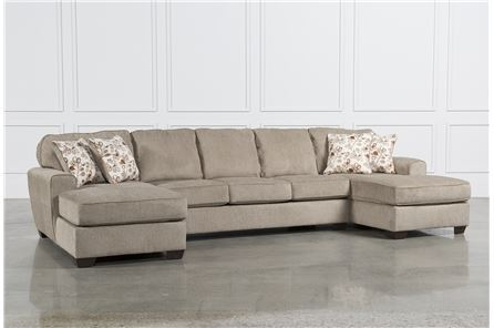 Display product reviews for KIT-PATOLA PARK 3 PIECE SECTIONAL W/2 CORNER CHAISES