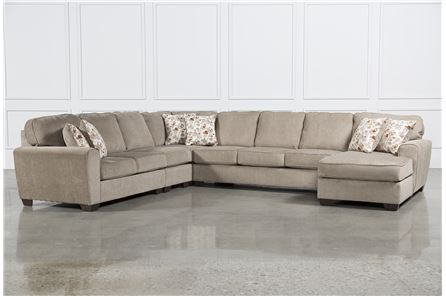 Display product reviews for KIT-PATOLA PARK 5 PIECE SECTIONAL W/RAF CHAISE