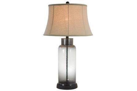 Display product reviews for TABLE LAMP-ERYNN SMOKE GLASS