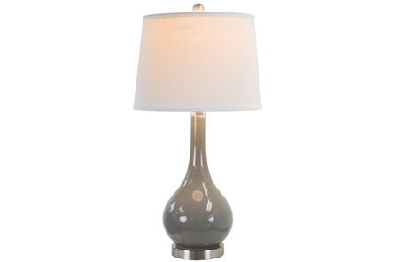 Display product reviews for TABLE LAMP-PIPER GREY