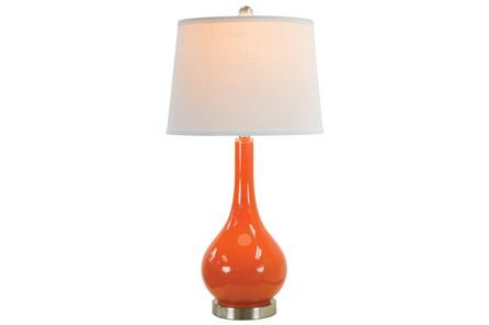 Display product reviews for TABLE LAMP-PIPER TANGERINE