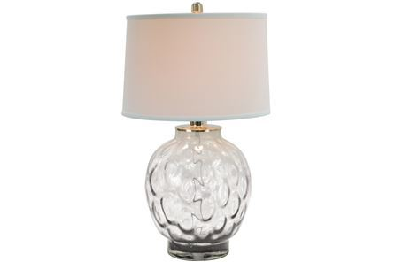 Display product reviews for TABLE LAMP-BUBBLE GLASS CLEAR