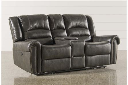 Display product reviews for GOODWIN POWER RECLINING LOVESEAT W/CONSOLE