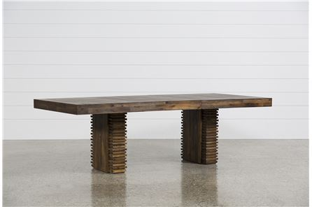 Display product reviews for KIT-TEAGAN EXTENSION DINING TABLE