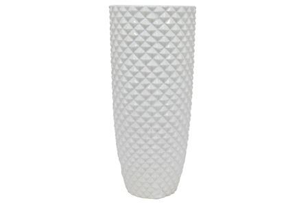 Display product reviews for 18 INCH WHITE CERAMIC VASE
