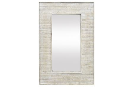 Display product reviews for MIRROR-WOOD FRAME 30X47