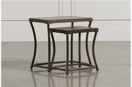 Display product reviews for NARTINA 2 PIECE NESTING END TABLES