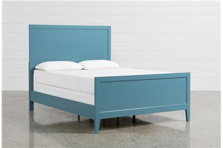 display product reviews for kit bayside blue queen panel bed