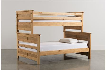 Display product reviews for KIT-SUMMIT CARAMEL TWIN/FULL BUNK BED