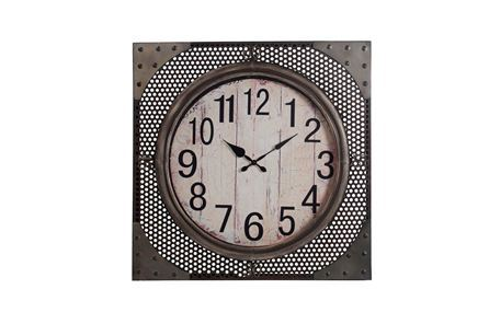 Display product reviews for SQUARE IRON WALL CLOCK